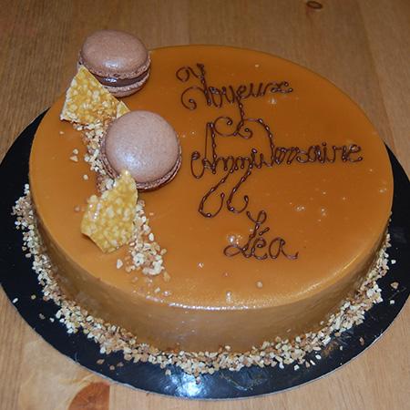 Confection de gâteaux d'anniversaire par votre pâtissier à Tourcoing